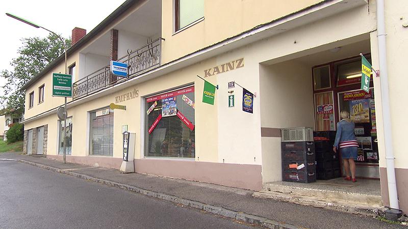 Kaufhaus Kainz, Nahversorgersterben, Kaufhaus, Geschäftsschließung