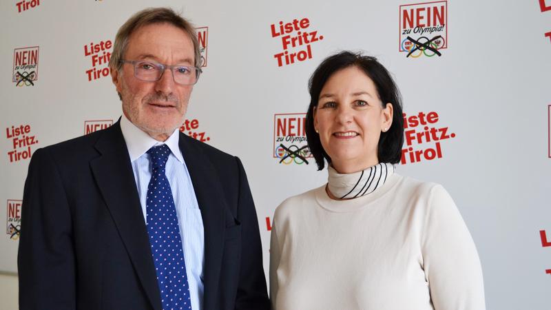 Heinz Mayer und Andrea Haselwanter Schneider