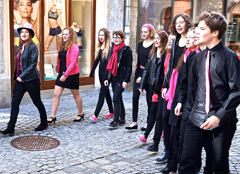 Jugendchor Pink & Black Steyr, Steyr-Stadt