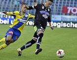 Fußball Bundesliga SKN Sankt Pölten Sturm Graz Roppe Riski Dario Maresic