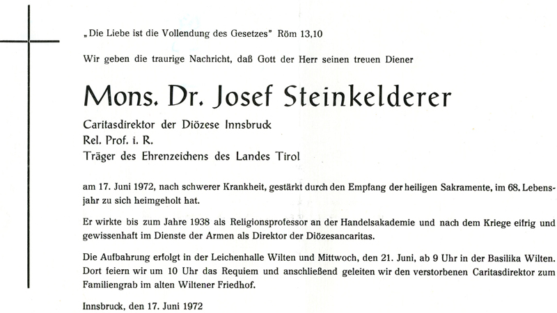 Parte Josef Steinkelderer