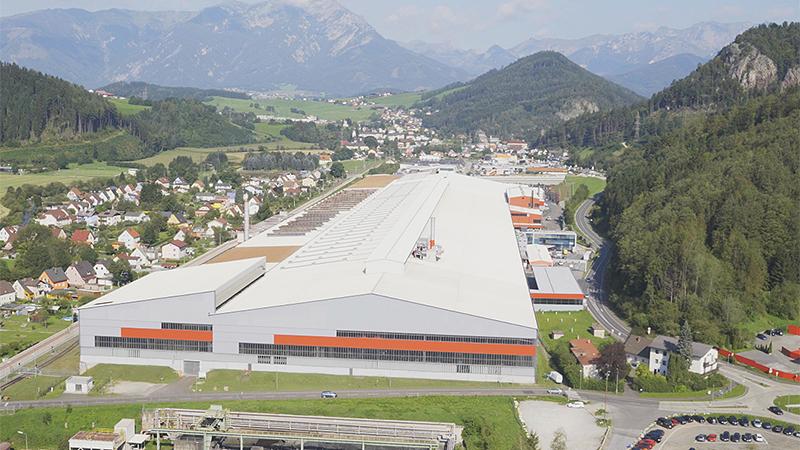 Neues voest-Drahtwalzwerk in Leoben-Donawitz