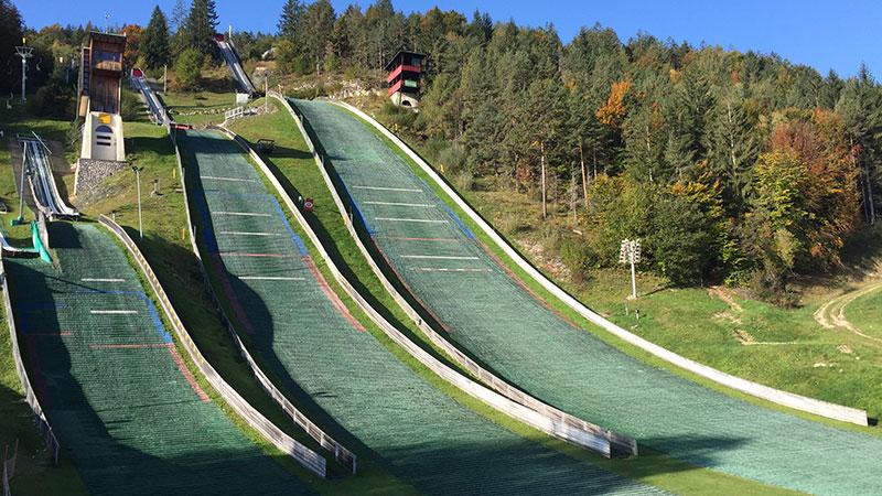 Skisprungmeisterschaft Villach Alpenarena