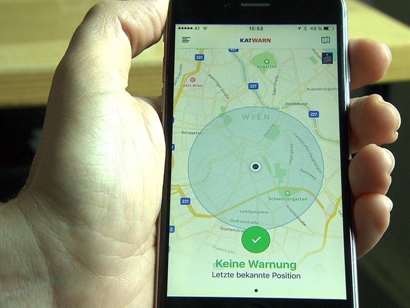 """Zivilschutzprobealarm: Die App """"KATWARN"""" wird zum ersten Mal getestet"""