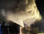 Brand im Lungau - Holzkonstruktion fing Feuer