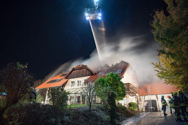 Großeinsatz für Feuerwehr in Oberneukirchen