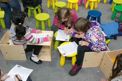 BUCH WIEN 16  – Kinder bei der Rätseltour