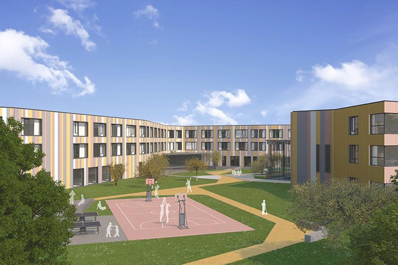 Bad Erlach Modell Kinder und Jugendrehabilitationszentrum