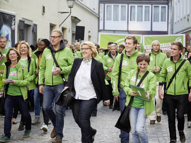 Grüne im Wahlkampffinale