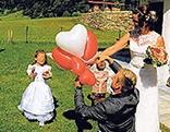 Hochzeitsluftballon Suntinger