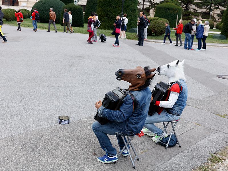 Parr Pferdekopfmusiker