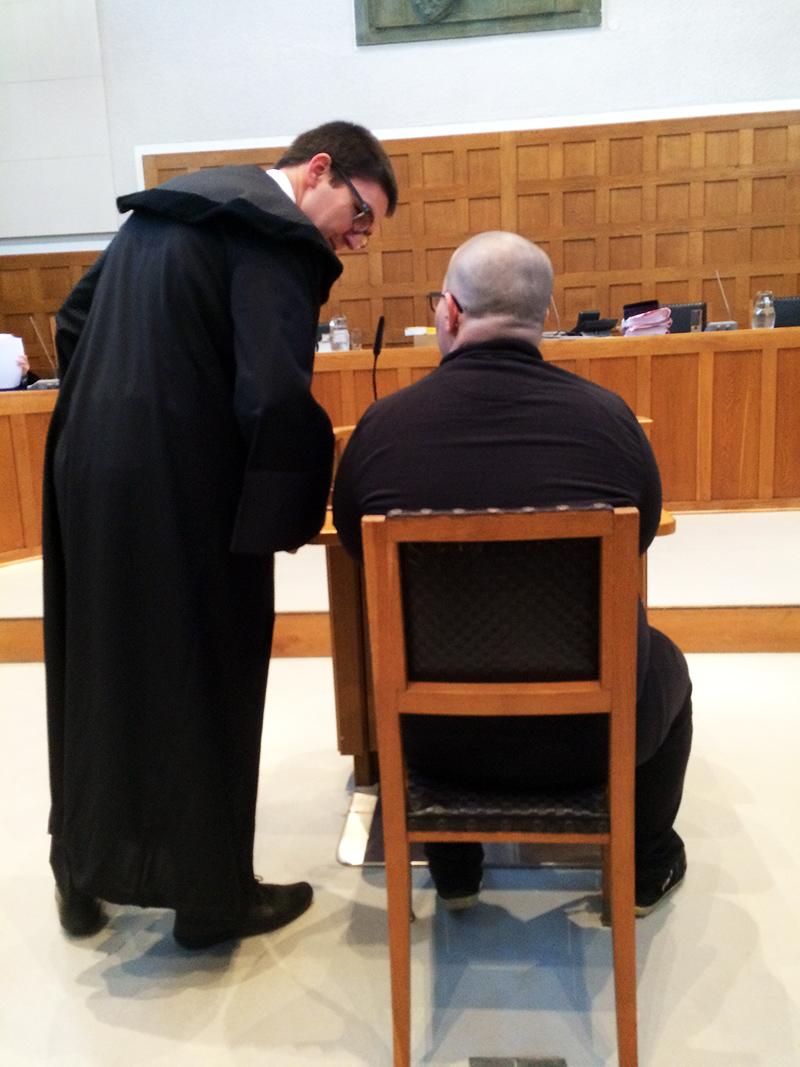 Tatverdächtiger vor Gericht