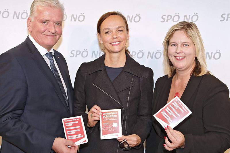 SPÖ zu Equal Pay Day Hammerschmid Schnabl