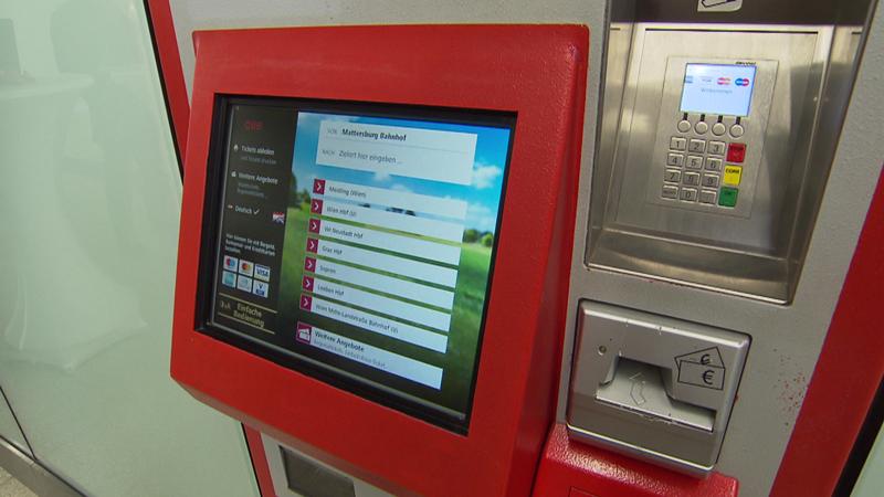Neue ÖBB Ticketautomaten in Eisenstadt