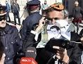 Anti-Verhüllungsverbot-Aktion des algerisch-französischen Geschäftsmanns Rachid Nekkaz am Montag, 9. Oktober 2017 vor dem Außenministerium in Wien