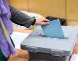 Wählen mit Wahlurne
