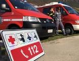 Einsatzfahrzeuge mit einheitlicher Notrufnumer 112