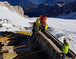 Baustelle Dachstein