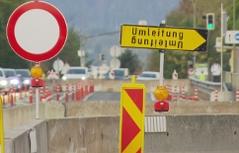 Brücke Seebachbrücke Villach Sperre