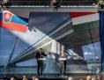 Robert Fico und Viktor Orbán eröffnen den Bau einer neuen Donaubrücke zwischen Komáromo und Komárno
