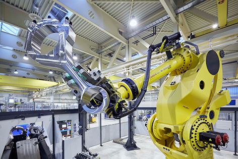 Produktion GE Jenbacher