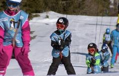 Schulskikurs Kinder Skifahren