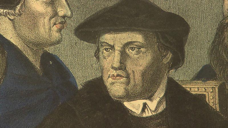 Ökumenische Gedenkfeier Mekinich Deutschkreutz, Martin Luther