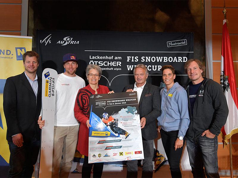 Snowboard Weltcup Lackenhof Ankündigung