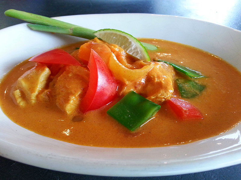 Suti kocht Red Curry