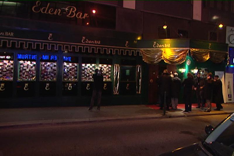Archivaufnahme der Eden Bar