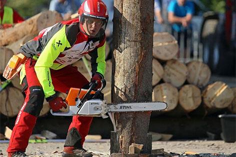 Forstarbeiter WM Weltmeisterschaft 2018 Qualifikation Kärnten