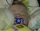 Schlafenes Kind Schnuller Kleinkind Zeitumstellung