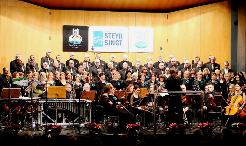 """Projektchor """"Steyr singt"""""""