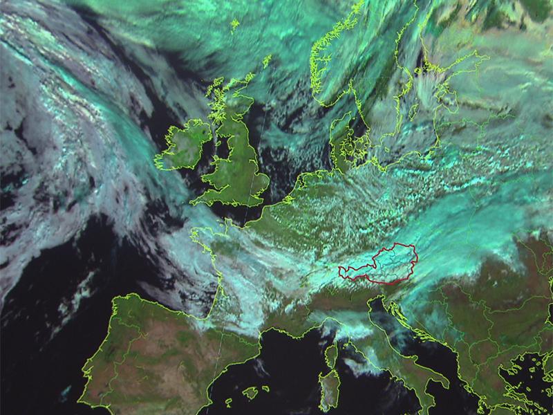 Wettersatellitenbild