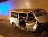 Tödlicher Verkehrsunfall im Achbergtunnel
