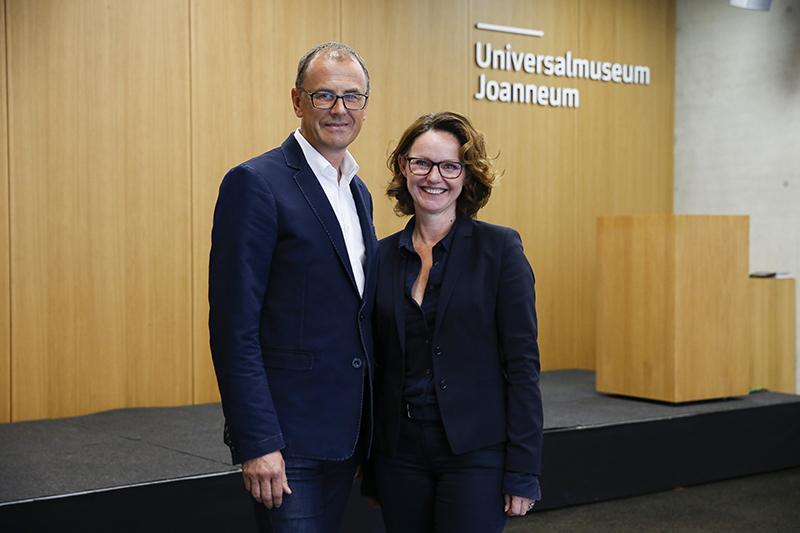 Muchitsch und Getzinger - Joanneum