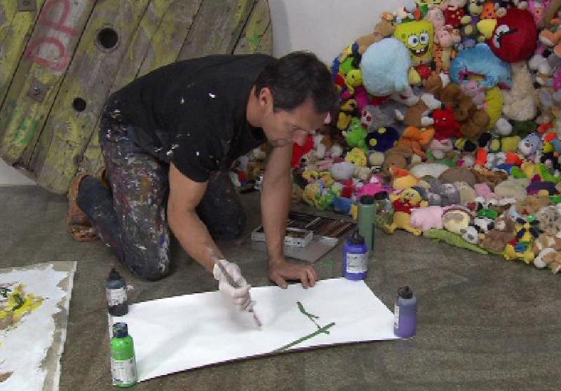 Ein Friedhofsgärtner als Maler