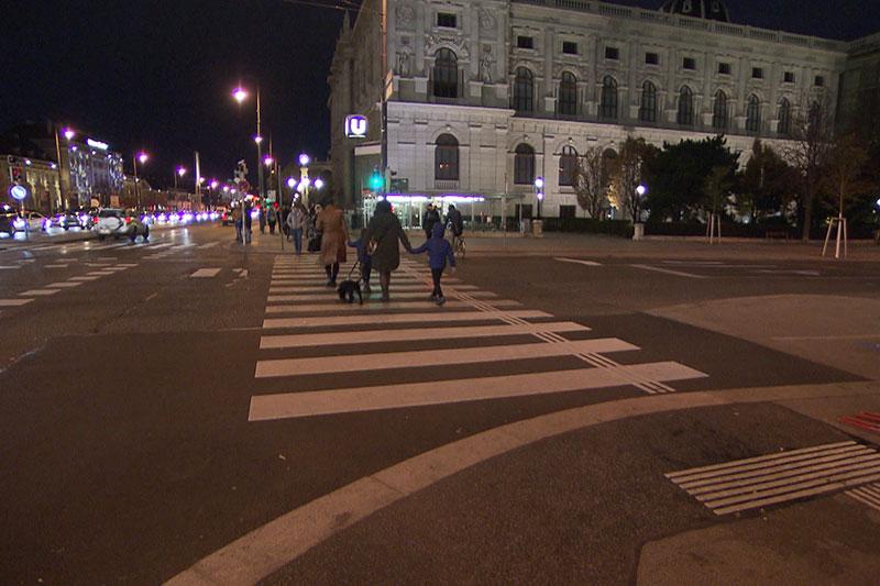 Fußgänger Dunkelheit