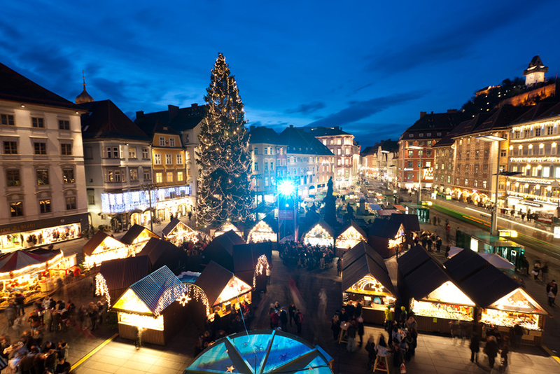 Adventmarkt am Hauptplatz