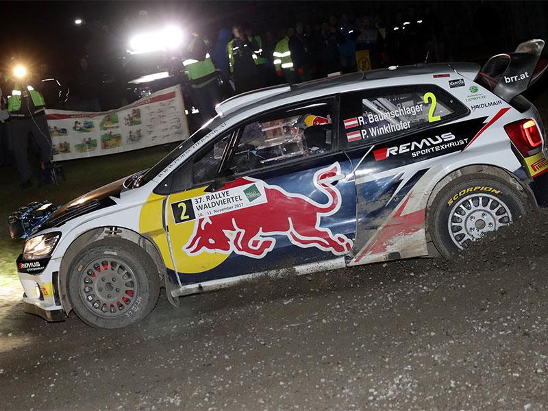 Rallyeauto Raimund Baumschlager