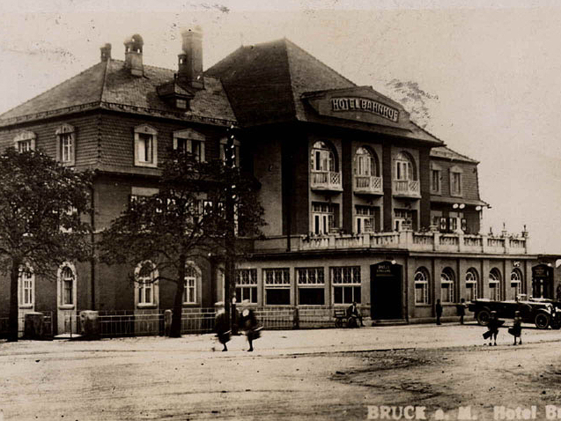 Bahnhofshotel Bruck an der Mur, Umbau