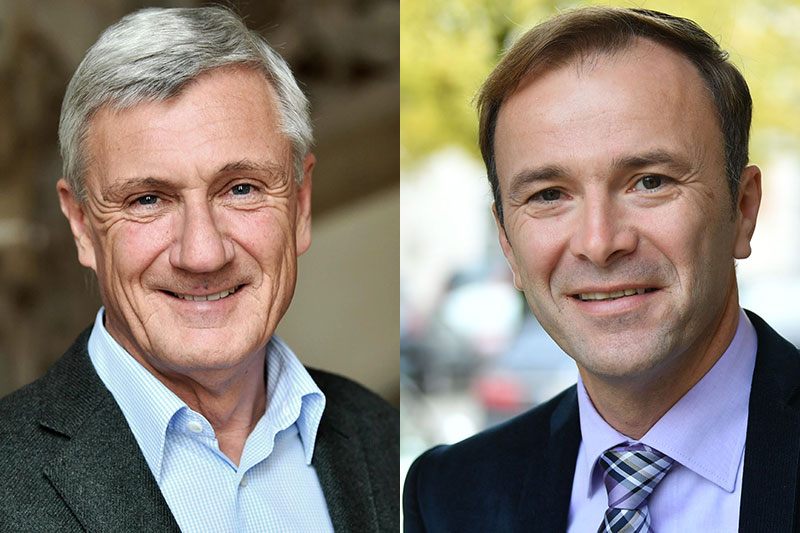 Harald Preuner (ÖVP, links) und Bernhard Auinger (SPÖ)