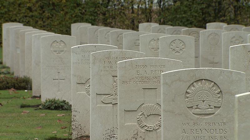 Soldatenfriedhof Gedenken 2017 Klagenfurt