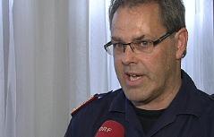 Polizei-Einsatzleiter Manfred Pfennich