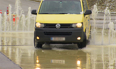 Gefahrentraining für Taxler boomt Taxifahrer Taxi Fahrsicherheit ÖAMTC
