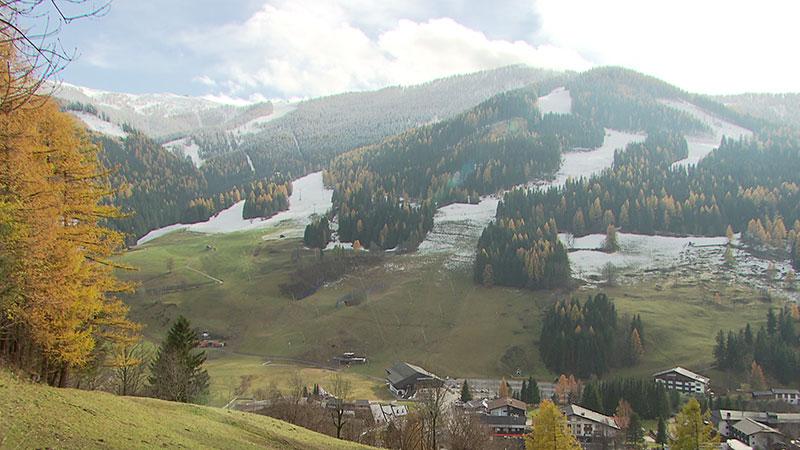 Skiopening Kärnten 2017 früher Wintereinbruch