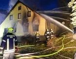 Wohnhausbrand in Muggendorf
