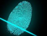 Symbolfoto Fingerabdruck