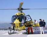 Landeplatz Hubschrauber Krankenhaus Dornbirn