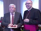 Verleihung des Martinus-Orden an Emil Kropf
